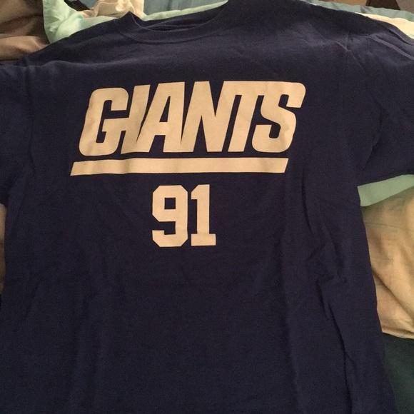 Justin Tuck  T-Shirt